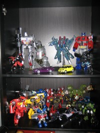 My Transformers display