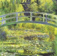 Water Lily Pond, by Claude Monet